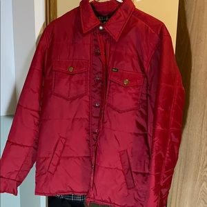 Obey quilted jacket